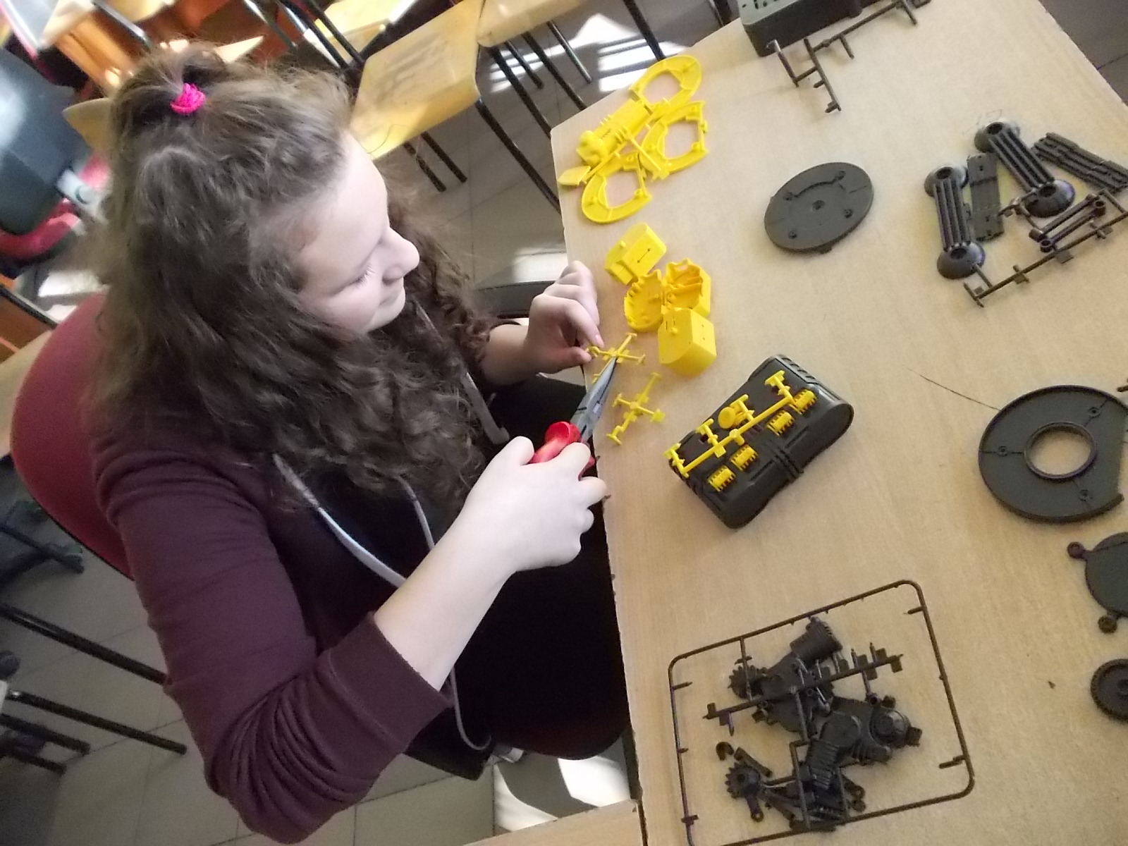 Robot - mechaniczne ramię sterowane
